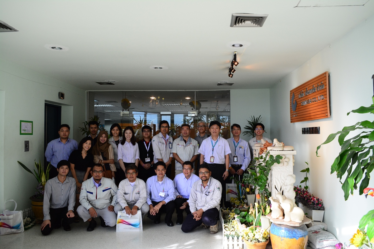 TOYOTA Group visit Konica Minolta Calibration Station